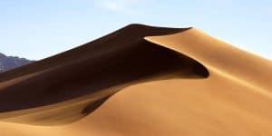 Info zu macOS 10.14 Mojave