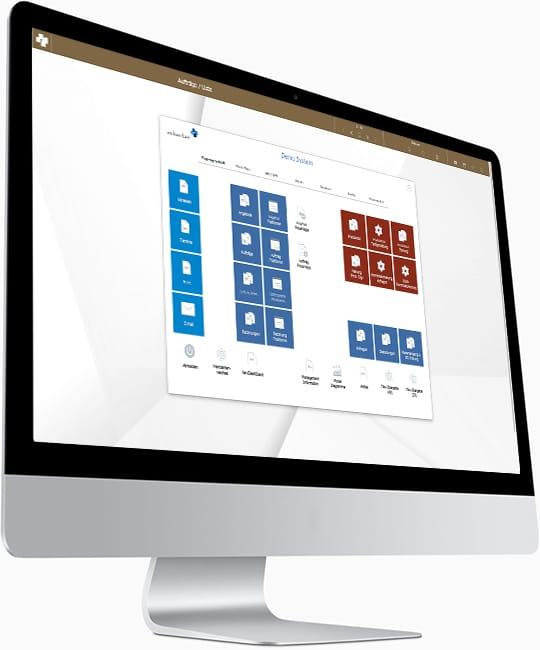 advanter® 5 elements | print + sign Auftragsbearbeitung