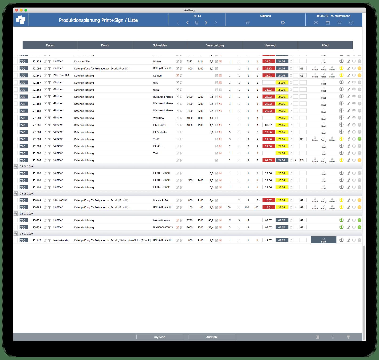 advanter 5.0 Kostenstellenliste