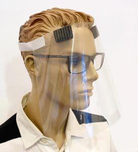 Erler + Pless klarsichtiger Gesichtsschutz 2.0