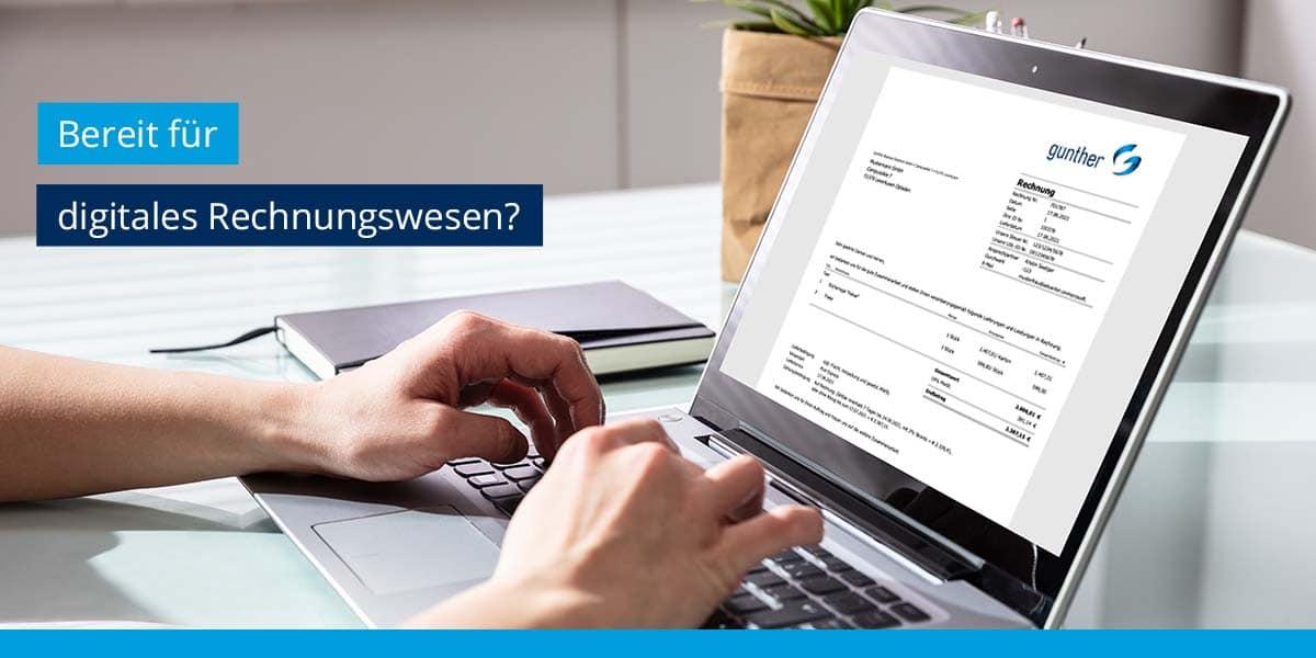 Starten Sie ins digitale Rechnungswesen!